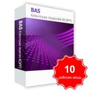 BAS Klіntska license LICENSE for 10 working hours