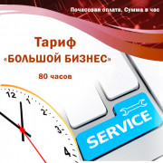 "Maintenance of automation systems (K2, BAS, 1C enterprise). The tariff is ""BIG BUSINESS"". Payment per month."